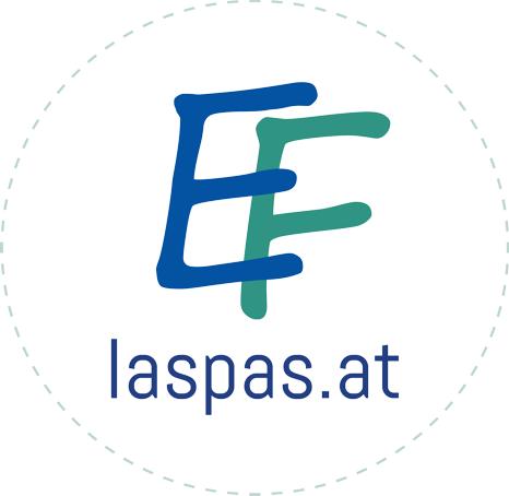 Logo Eva Friederike Laspas - Marke & Text